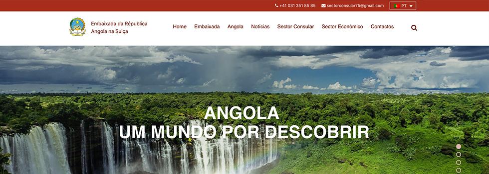 Site portal da Embaixada da Suiça